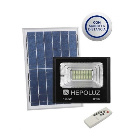 proyector-led-solar-100w